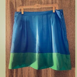 J. Crew Color Block Skirt